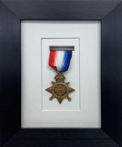 Military / War / Sports Medal 3D Box Picture Frame Fits One Medal